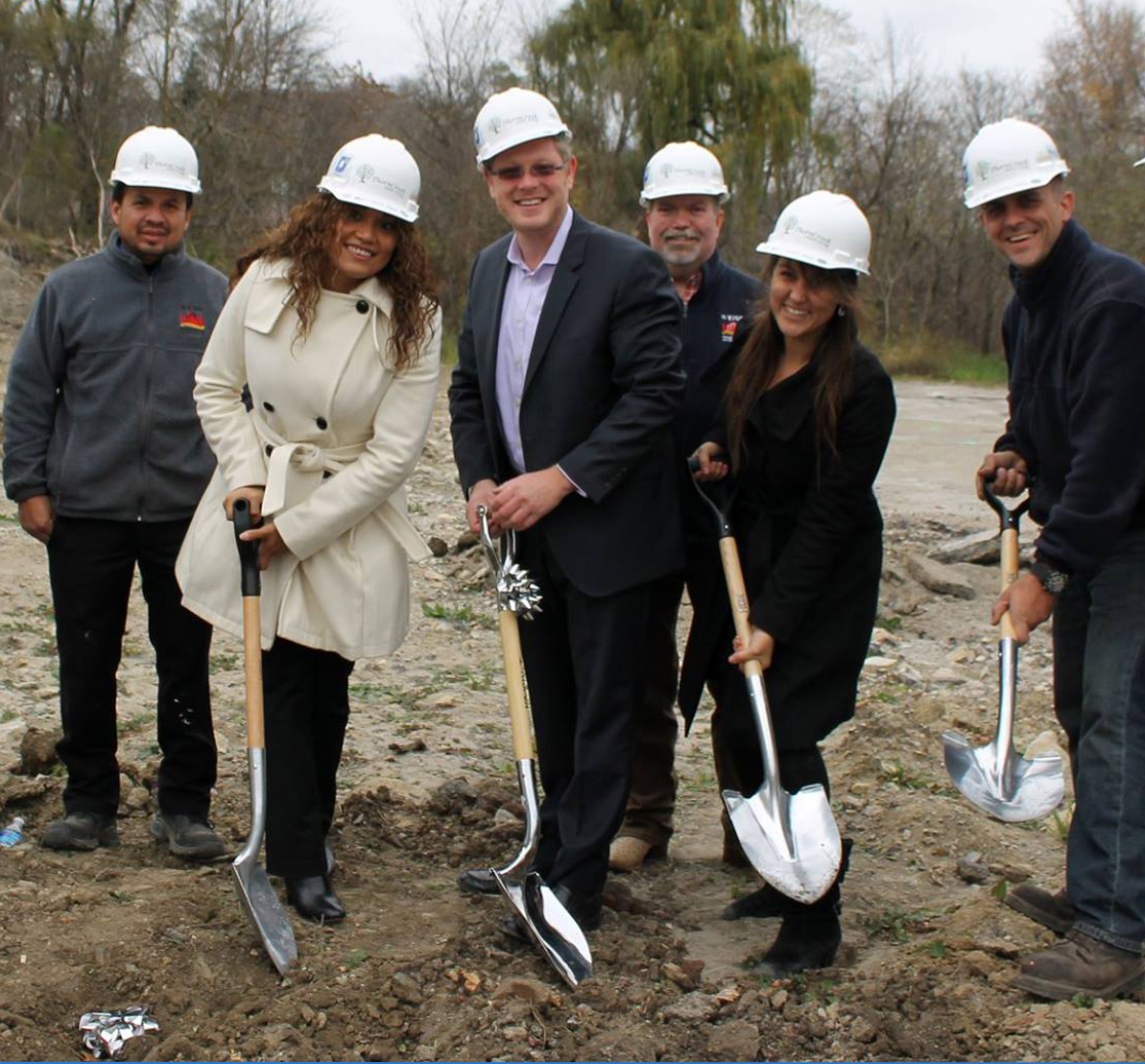 Ground Breaking Weiss Properties Lesse