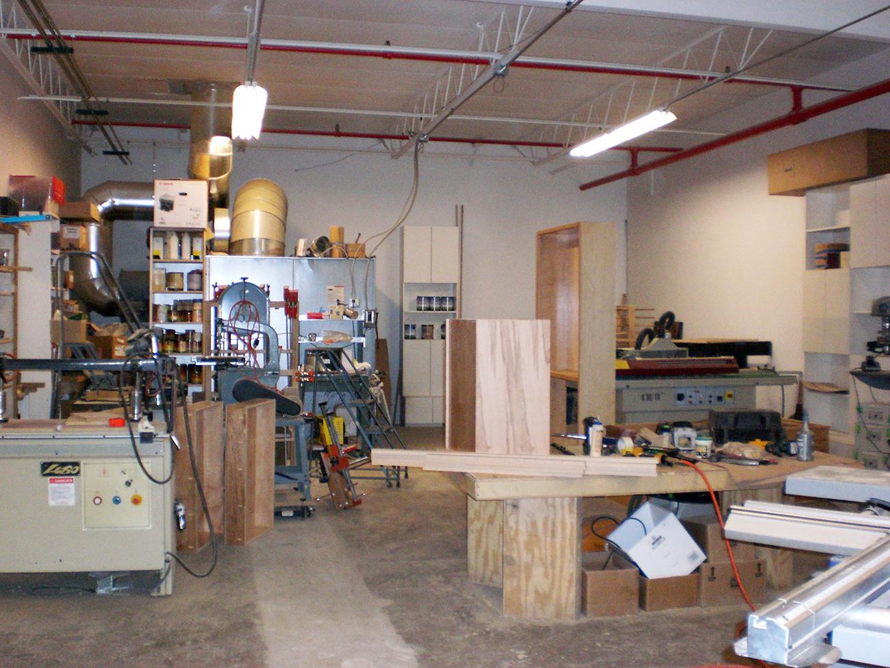 Suite 1b interior workshop 7510 St. Louis, Skokie IL