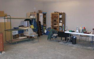 Suite 1b interior workshop planning area