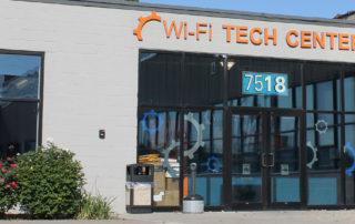 Front entrance of the Skokie Tech Center
